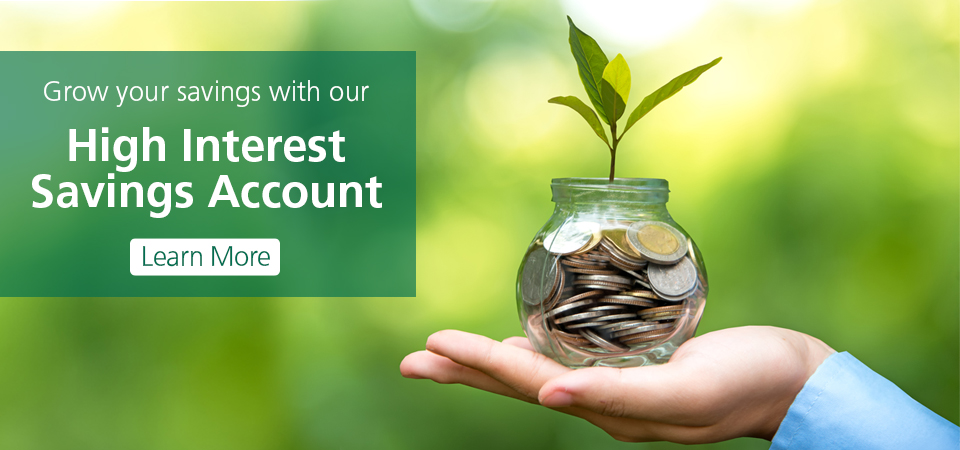 High Interest Savings Account (HISA)